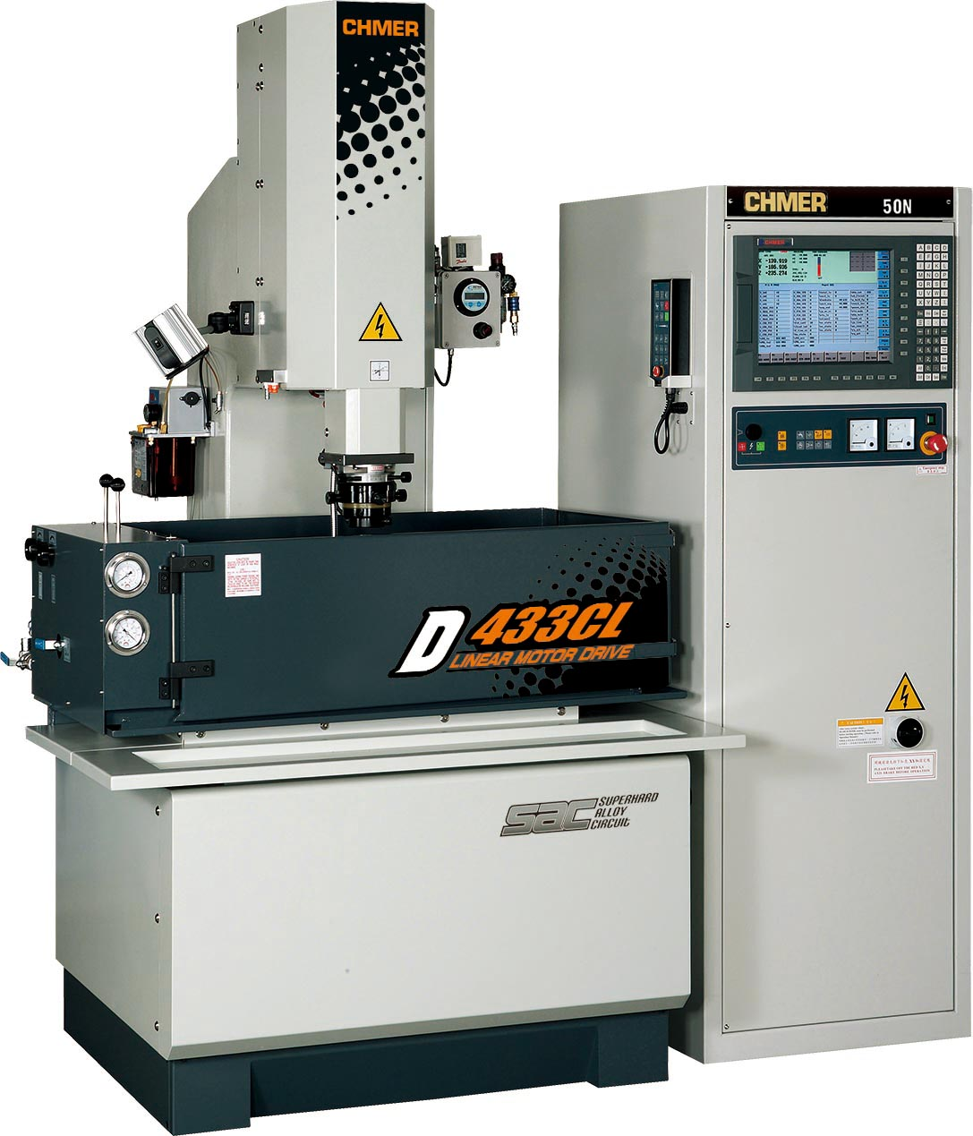 Picture of CHMER CNC Z-Axis Linear Motor D433CL